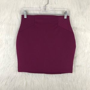 Tobi Berry Mini Skirt